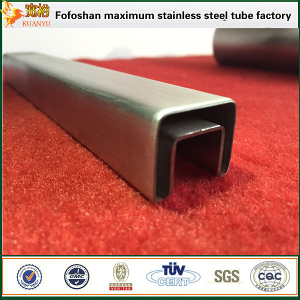 Hot rolled erw tubes slotted stainless steel square piping