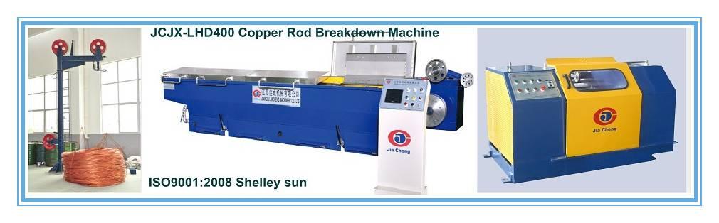 Medium Speed Copper Rod Breakdown Machine