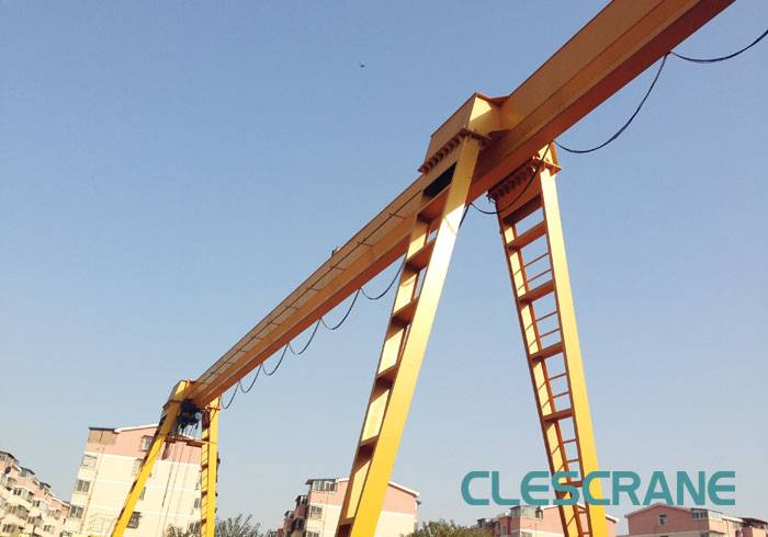 LHG Series top quality European style single girder electric wire rope hoist gantry crane for sale