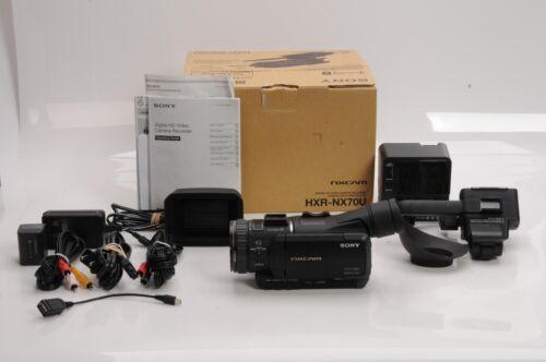 Sony HXR-NX70U NXCAM Professional Compact Camcorder +14704086638