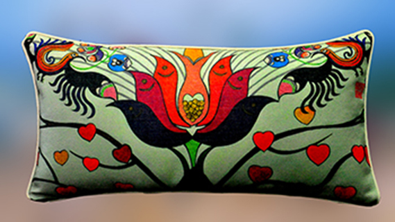 bolster cover - Tree of Life (I)