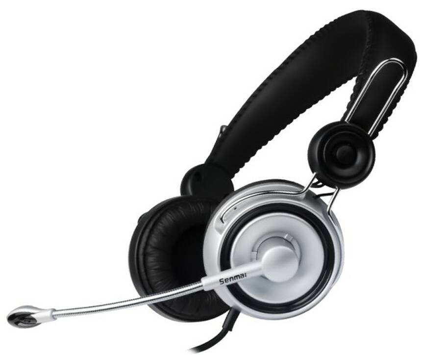 Computer headphone/headset with microphone