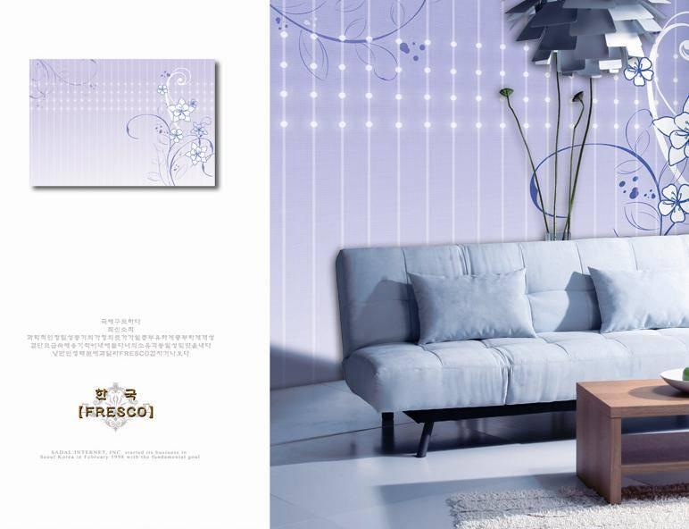 Korean style non-woven wallpaper