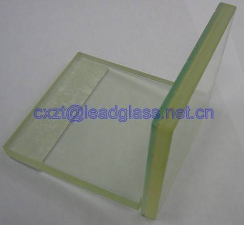lead glass with high transparency