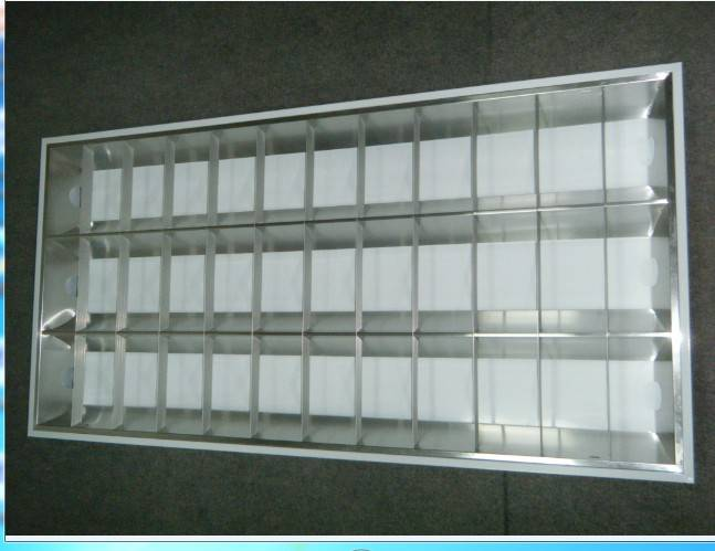 LED integrated light steel lighting fixture
