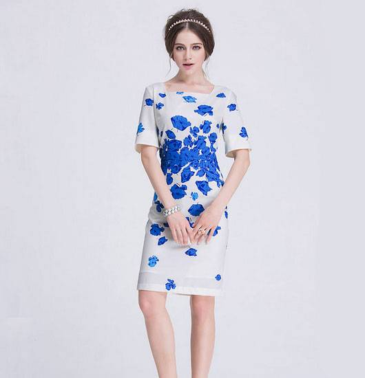 Elegant New Design Latest Sale Ladies Fashion Dress