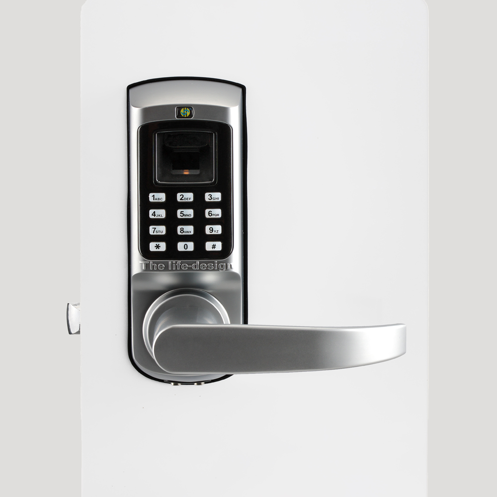 Biometric hotel lock system card & Password Door Lock