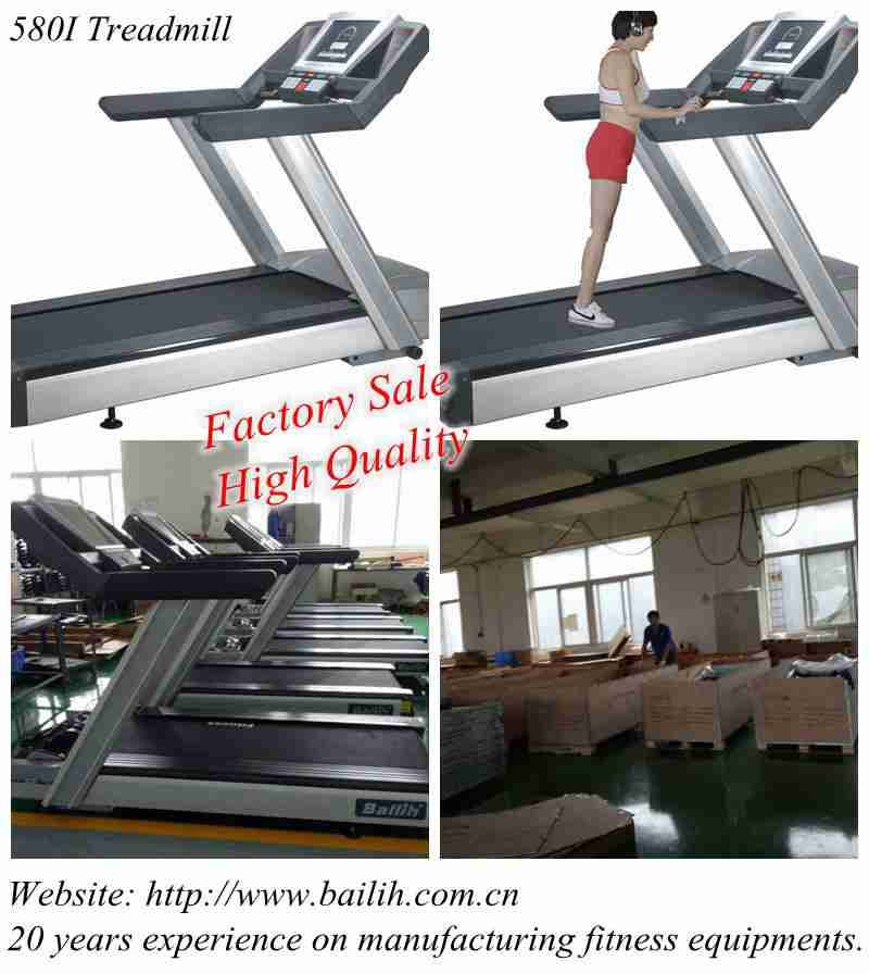 Bailih High Quality 580I Treadmill AC 3.5HP Running Machine 580I TV