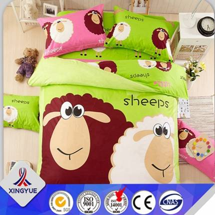 kid best quality cotton bed cover