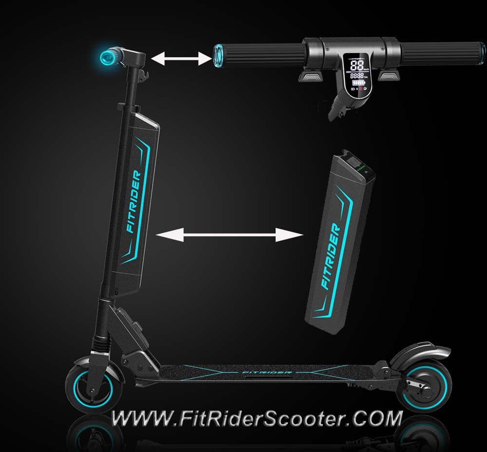 Fitrider Scooter F1 Model 6inch with smart display