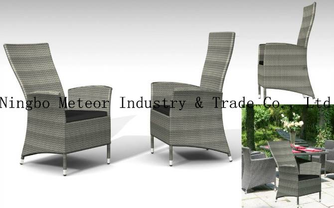 MTC-042 outddor porch chair-wicker dining chair-patio outdoor furniture-cany chair