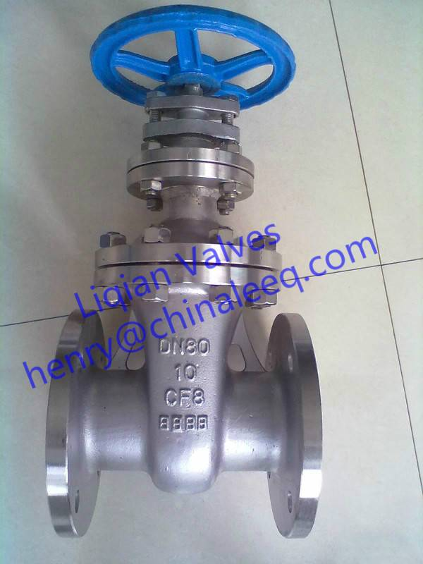 API 150LB Cast Steel Gate Valve
