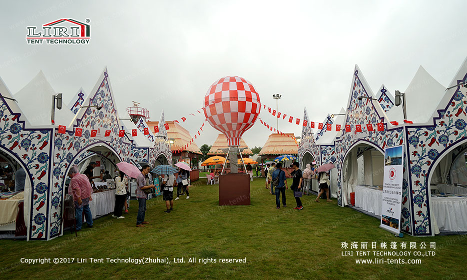 3X3m 4X4m 5X5m Pagoda Tent Small Tent for Carnivals