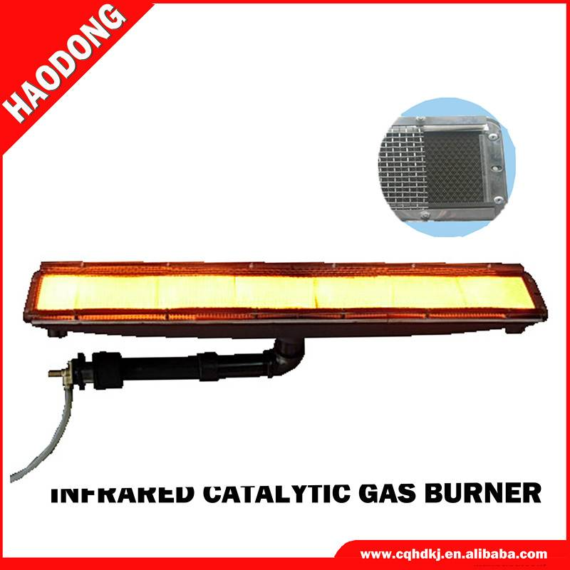 High-efficient infrared industrial propane burner HD242