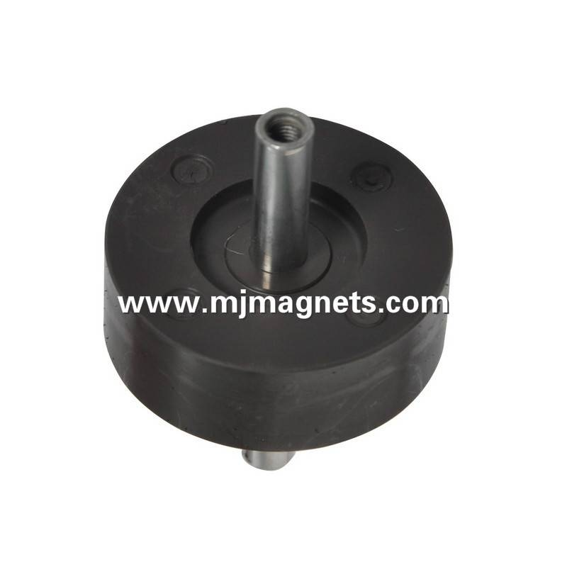 plastic injection molded magnet for rotor