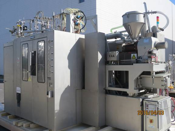 Used Rommelag 321 BFS 6 cavity machine