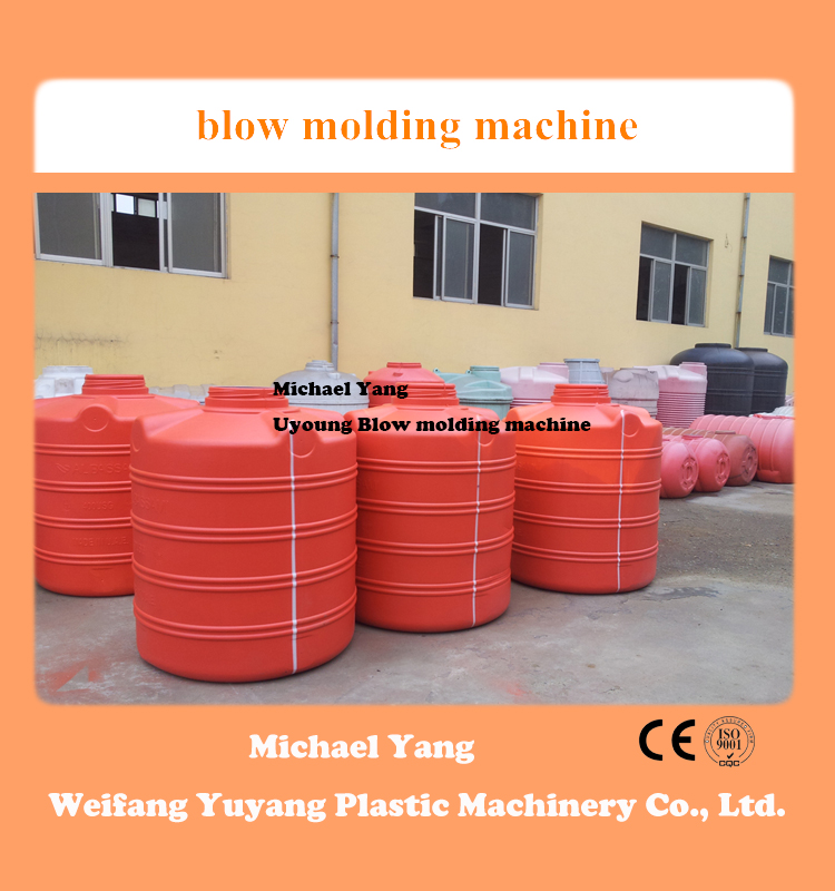 large blow molding machine for water tank pallet and chemical drum