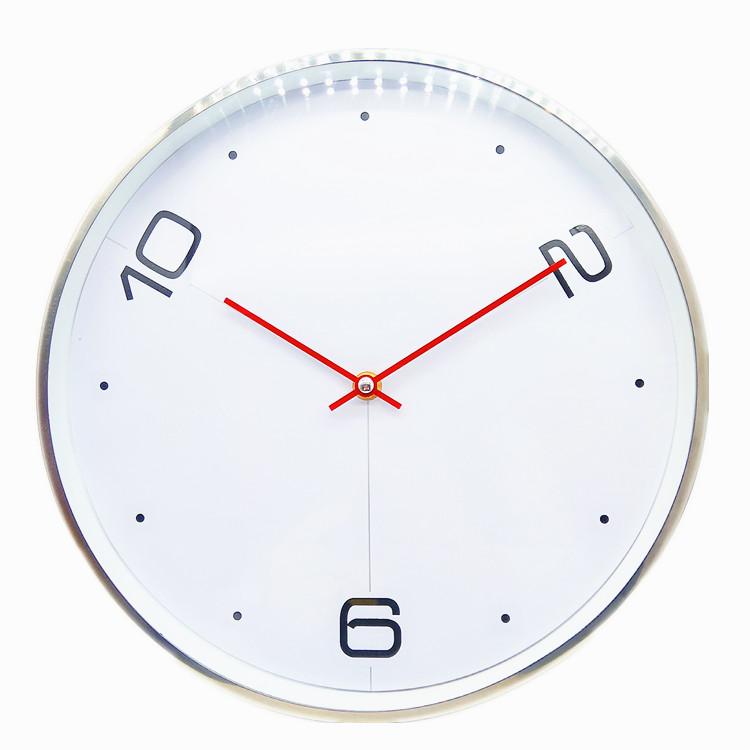 12 inch aluminum wall clock
