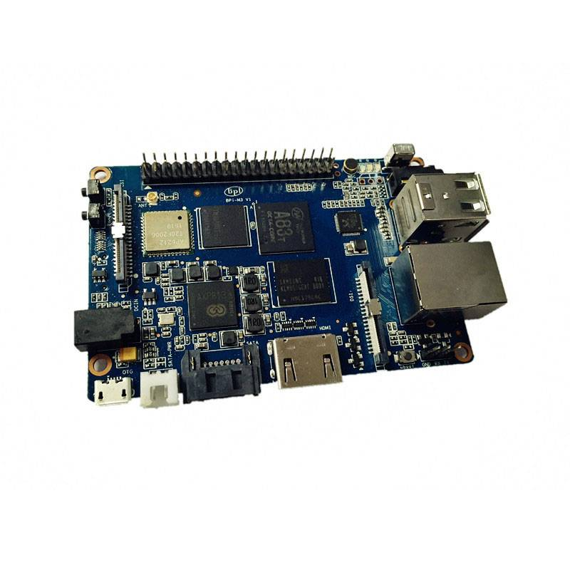 BPI-M3 octa core 1.8GHz motherboard raspberry pi dual ethernet