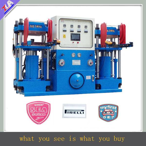 Professional silicone label shaping machine for clothes