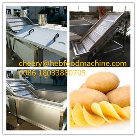 food factory customized low cost chips machine