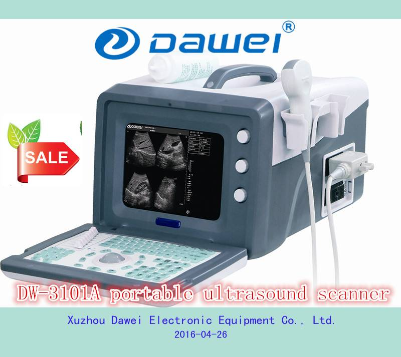 Portable ultrasound machine price for DW-3101A portable ultrasound machine
