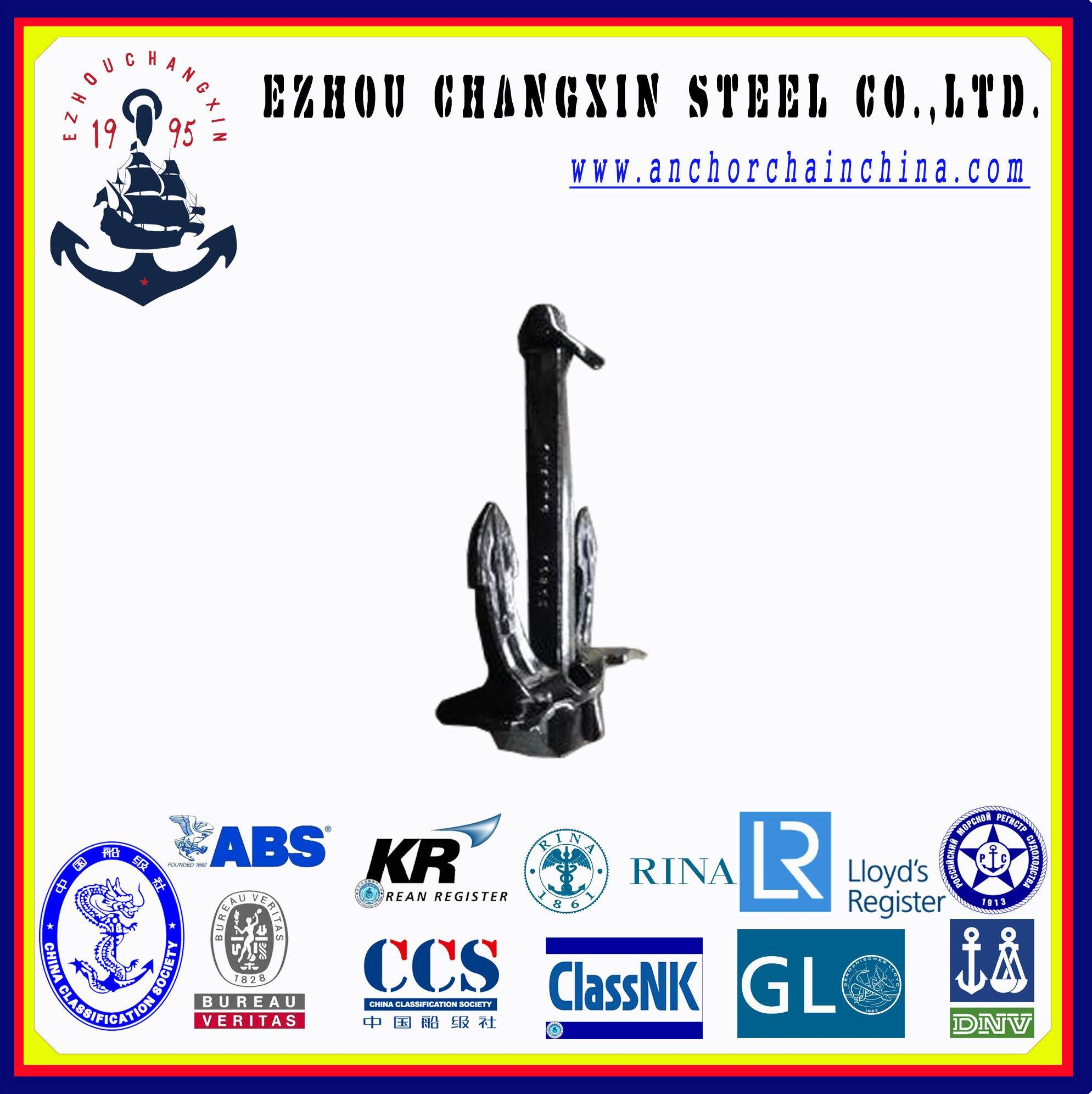 The worldsale anchor service Japan Stockless Marine Anchor    with delivery quickly