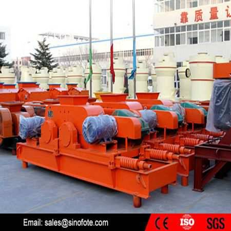New high pressure double teeth roll crusher