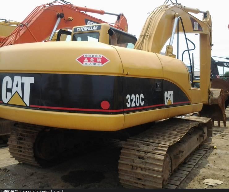 Used Japan Original CAT 320C Crawler Excavator