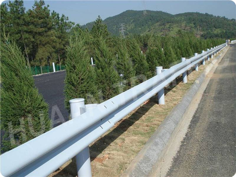 highway steel traffic barrier