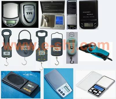 electronic scale, pocket scale, tire pressure gauge