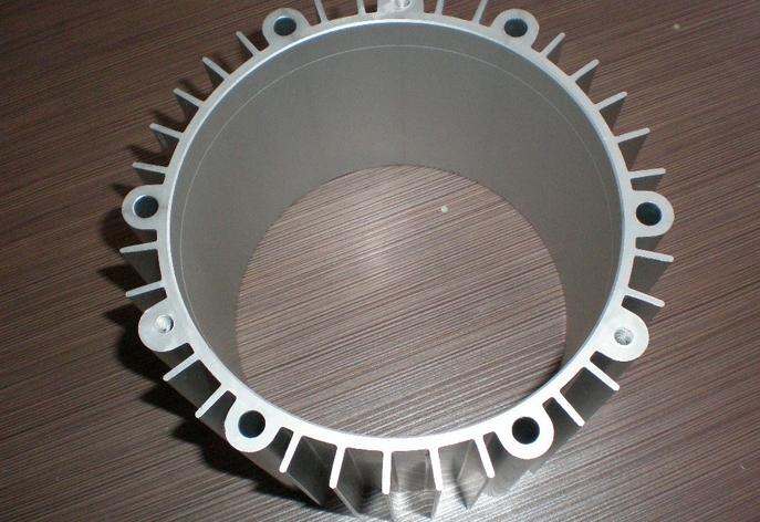 Extrude aluminum profiles