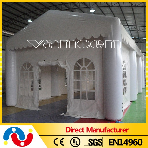 wholesale new design funny inflatable house tent,inflatable white tent for sale