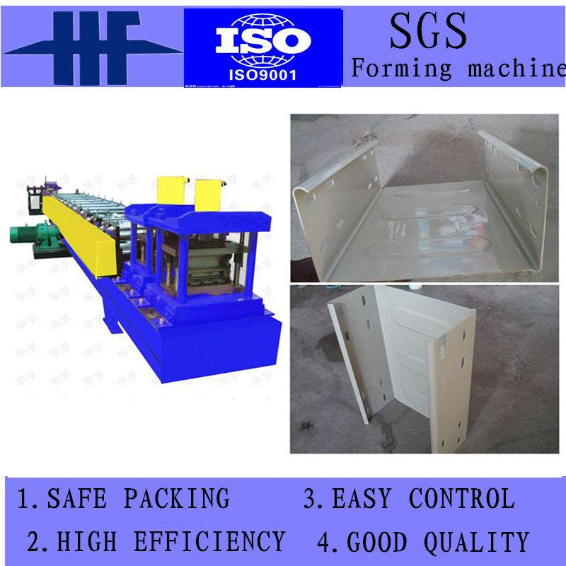 High Speed Automatic Metal Cable Tray Forming Machine