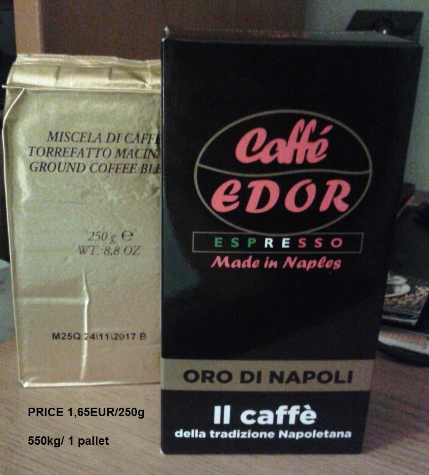 Ground Italian Coffee EDOR