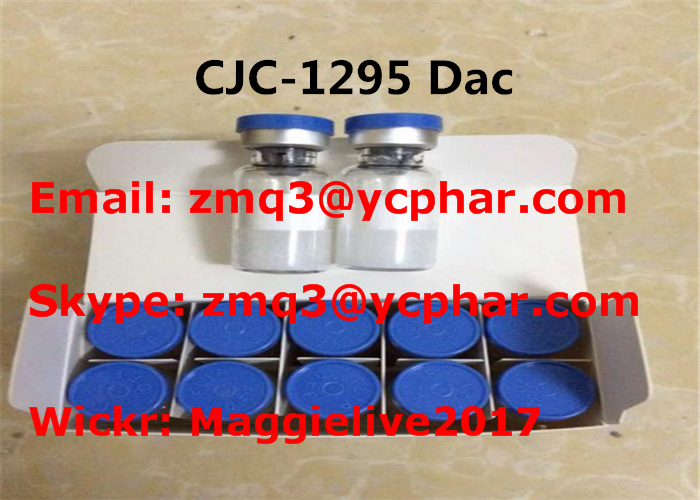 Healthy Cjc-1295 Dac Fat Burning Peptides White Powder With High Purity , ISO9001 Comliant