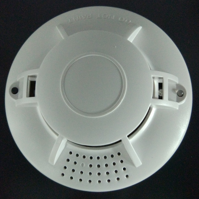 9V Battery independent Powered Photoelectric Smoke Alarm smoke detector for home safety