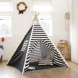 KID'S TENT_black star