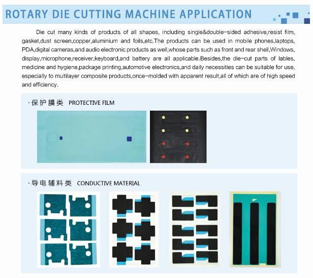 5 workstation rotary die cutting machine