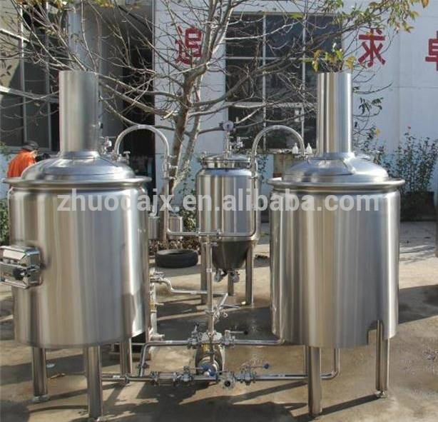 Restaurant equipment 200L microbrew system with CE certification