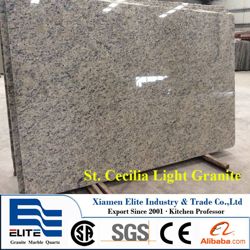 St. Cecilia Light Granite Stones Slab