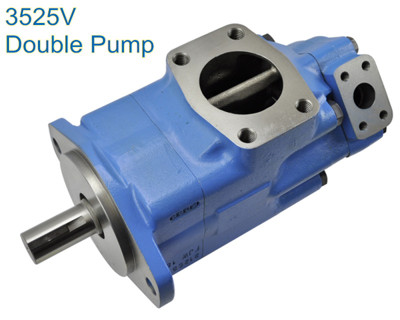3520V Variable Displacement Pump Denison Double Hydraulic Pump