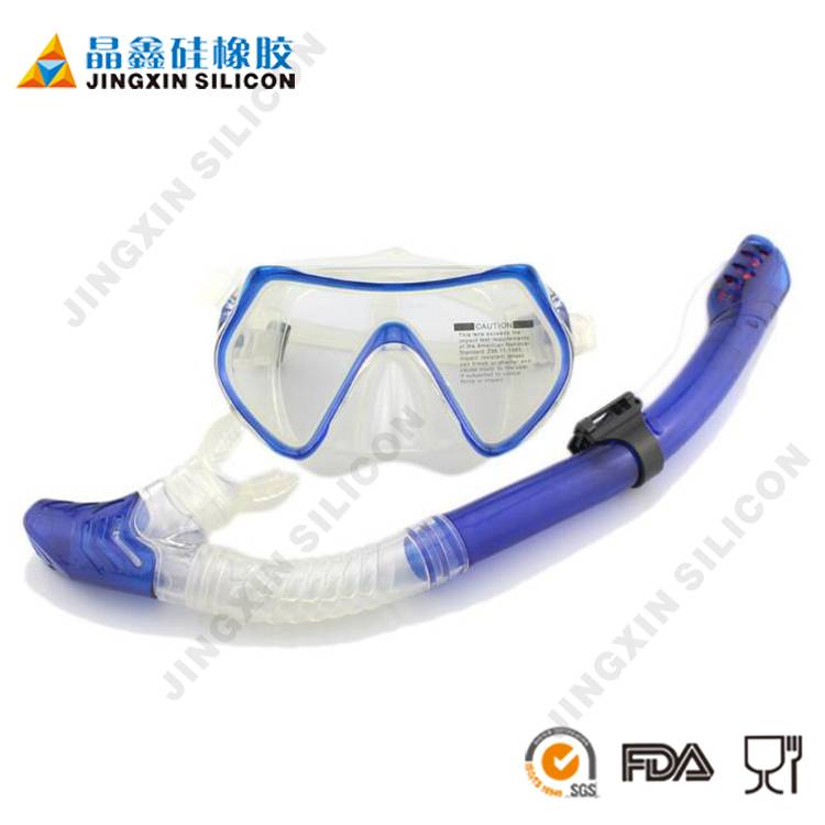 Tribord Easybreath Snorkeling Mask Set Silicone Diving Mask ScubaDiving Equipment