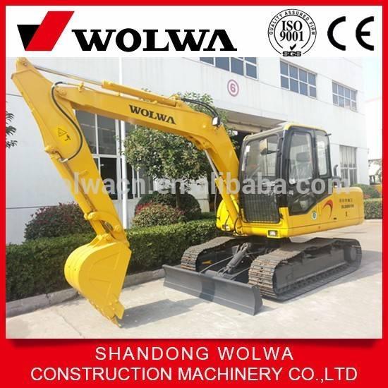 high quality 7T mini crawler hydraulic excavator