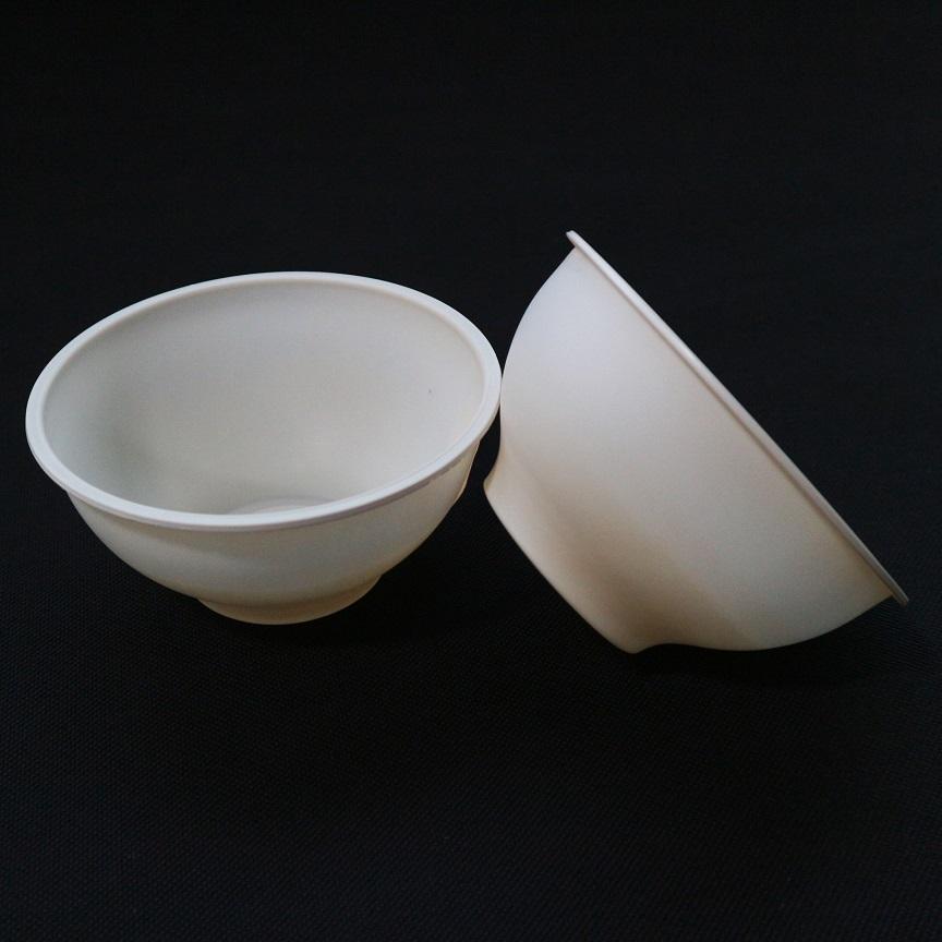 Biodegradable Tableware,Cornstarch Disposable Salad Bowls