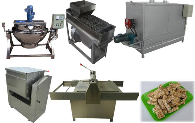 High Quality Peanut Brittle Making Machine