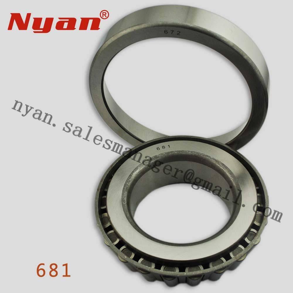 Excavator Bearings supplier manufacturer NYAN Bearing 681