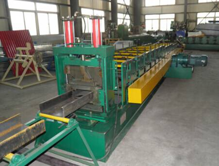 C shape steel purlin roll forming machine