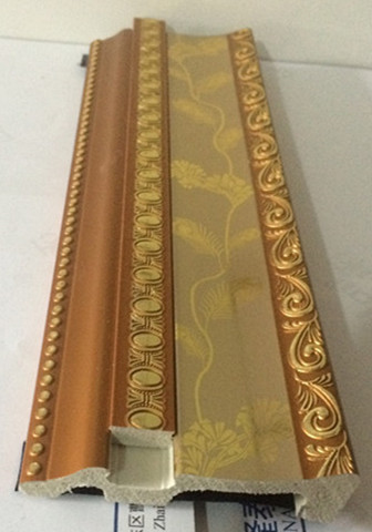 High Quality PS Interior Decoration Cornice Moulding