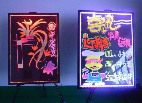 Fluorescence Led Writing Board